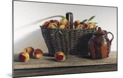 Peaches and Cream-Pauline Ebl? Campanelli-Mounted Art Print