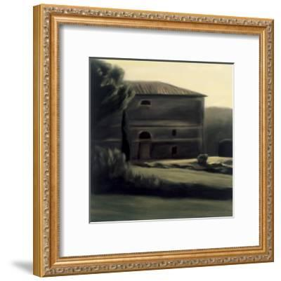 Abbadia Isola-Mallory Lake-Framed Art Print