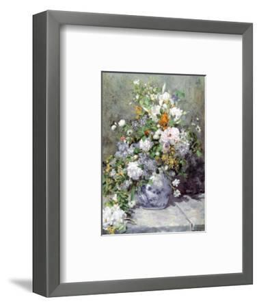 Grande Vaso di Fiori-Pierre-Auguste Renoir-Framed Art Print