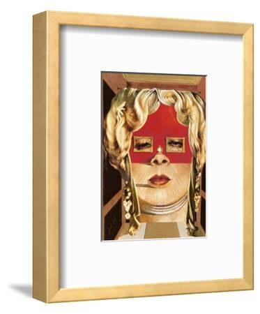 Face of Mae West, c.1935-Salvador Dal?-Framed Art Print