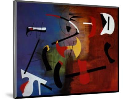 Peinture Composition-Joan Miro-Mounted Art Print