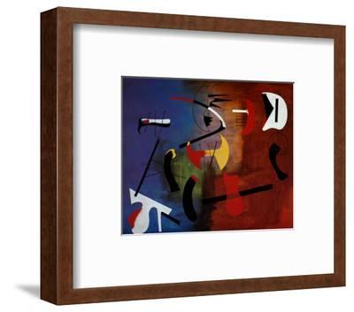 Peinture Composition-Joan Miro-Framed Art Print