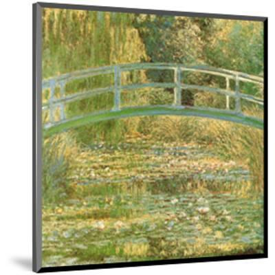Water Lily Pond-Claude Monet-Mounted Art Print