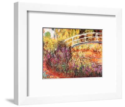 The Japanese Bridge-Claude Monet-Framed Art Print