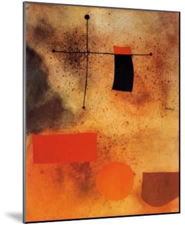 Abstract, c.1935-Joan Mir?-Mounted Art Print