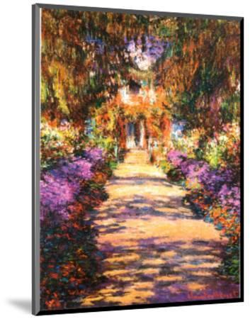 Il Viale del Gardino-Claude Monet-Mounted Art Print