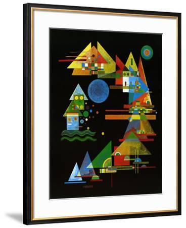Spitze in Bogen, c.1927-Wassily Kandinsky-Framed Art Print