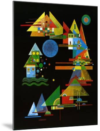 Spitze in Bogen, c.1927-Wassily Kandinsky-Mounted Art Print