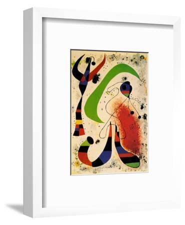 Night-Joan Mir?-Framed Art Print