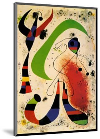 Night-Joan Mir?-Mounted Art Print