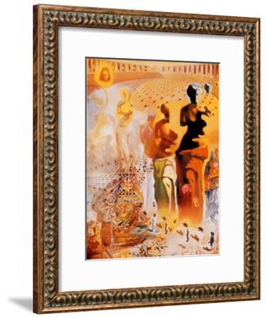 The Hallucinogenic Toreador, c.1970-Salvador Dal?-Framed Art Print