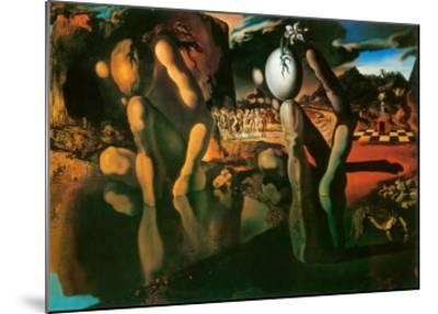 The Metamorphosis of Narcissus, c.1937-Salvador Dal?-Mounted Art Print