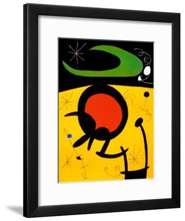 Vuelo de Pajaros-Joan Mir?-Framed Art Print