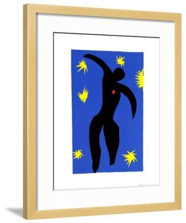 Icarus-Henri Matisse-Framed Art Print