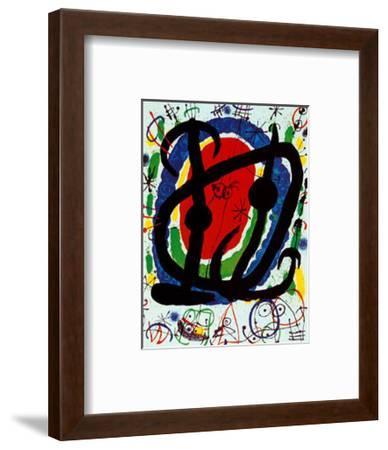 Exposition XXII Salon-Joan Mir?-Framed Art Print