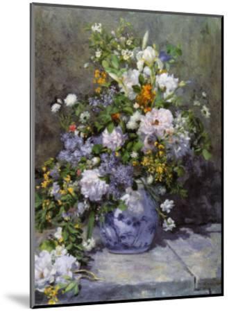 Grande Vaso di Fiori-Pierre-Auguste Renoir-Mounted Art Print
