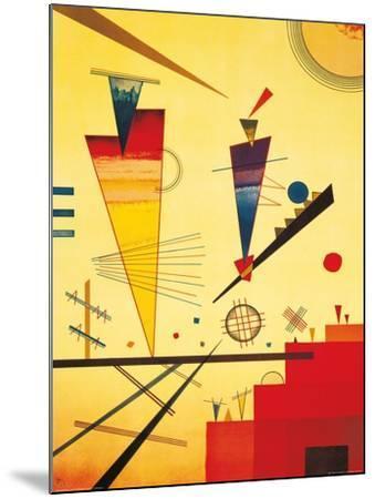Merry Structure-Wassily Kandinsky-Mounted Art Print