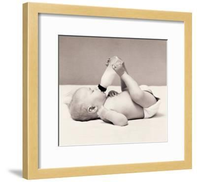 Thirsty Baby-H^ Armstrong Roberts-Framed Art Print