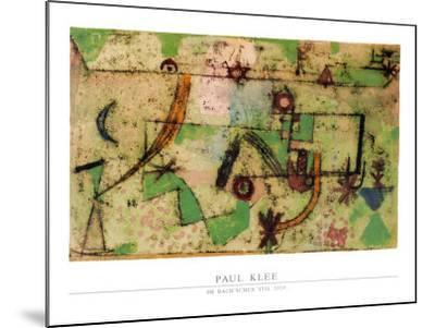 Im Bachschen Stil, 1919-Paul Klee-Mounted Art Print