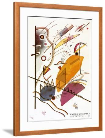 Aquarelle, 1923-Wassily Kandinsky-Framed Art Print