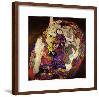 Virgin, 1913-Gustav Klimt-Framed Art Print