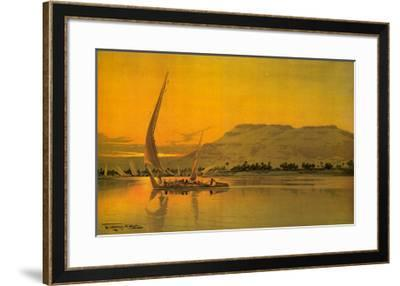 Spend This Winter in Egypt-M^ Tamplough-Framed Art Print
