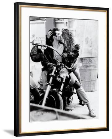 Harley Davidson-Frank Schott-Framed Art Print