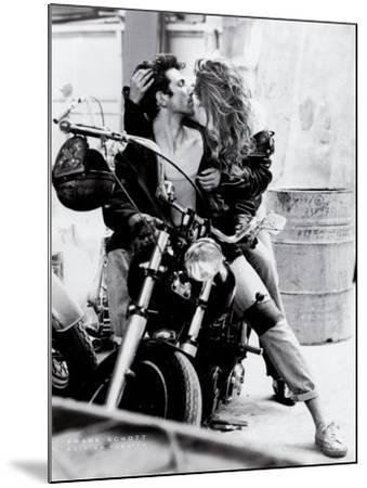 Harley Davidson-Frank Schott-Mounted Art Print