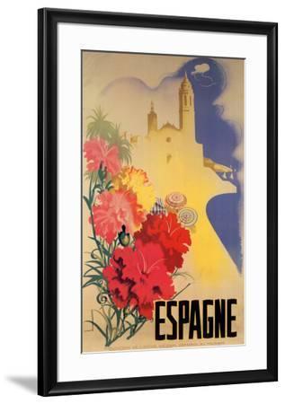 Espagne-Movell-Framed Art Print