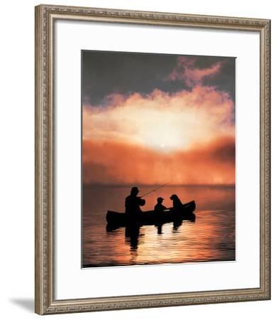 Values: Fishing--Framed Art Print