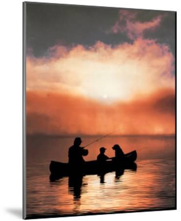 Values: Fishing--Mounted Art Print