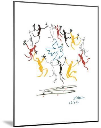 The Dance of Youth-Pablo Picasso-Mounted Art Print