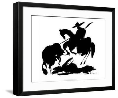 Bullfight I-Pablo Picasso-Framed Art Print