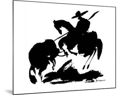 Bullfight I-Pablo Picasso-Mounted Art Print