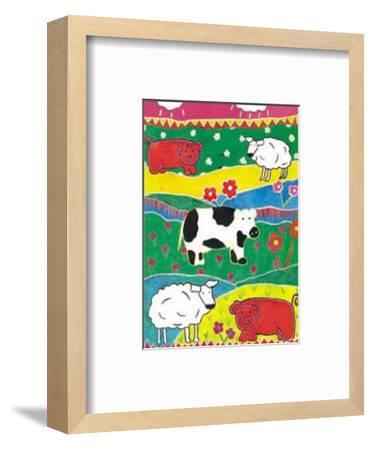 Colour Graze-Lisa V^ Keaney-Framed Art Print