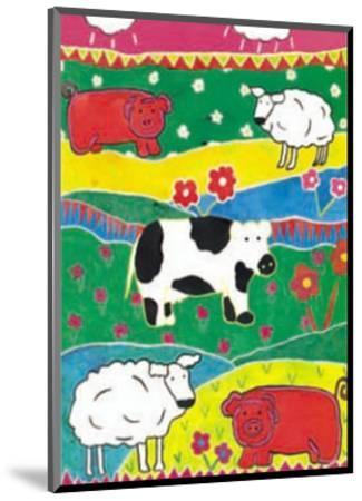 Colour Graze-Lisa V^ Keaney-Mounted Art Print
