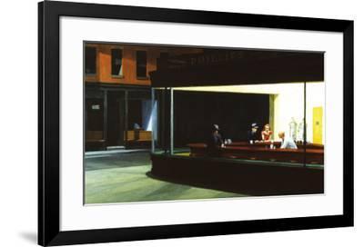 Nighthawks, c.1942-Edward Hopper-Framed Art Print