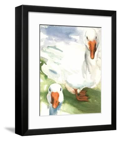 Geese-Paula W^ Patterson-Framed Art Print