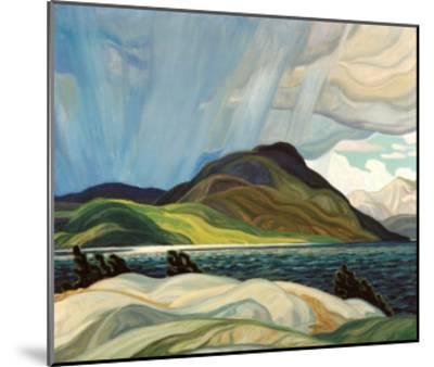 Lake Wabagishik-Franklin Carmichael-Mounted Art Print