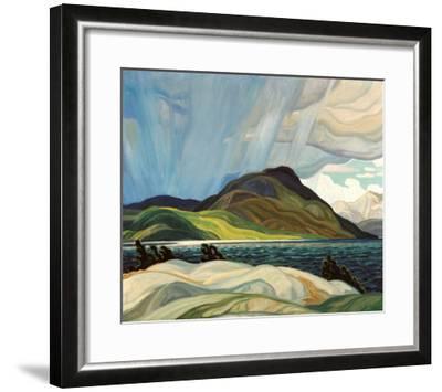 Lake Wabagishik-Franklin Carmichael-Framed Art Print