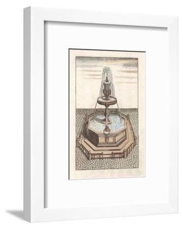 Fontain V--Framed Art Print