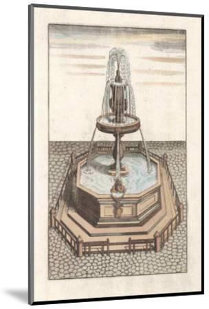 Fontain V--Mounted Art Print