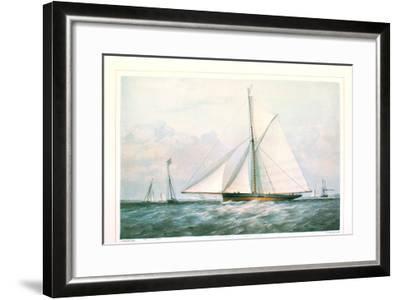 Arrow Yacht--Framed Art Print