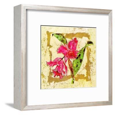 Orquidea-A^ Vega-Framed Art Print