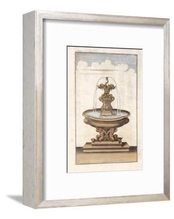 Fontain III--Framed Art Print