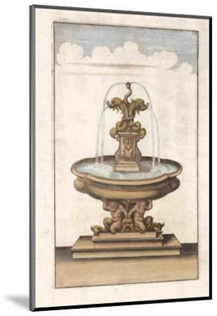 Fontain III--Mounted Art Print