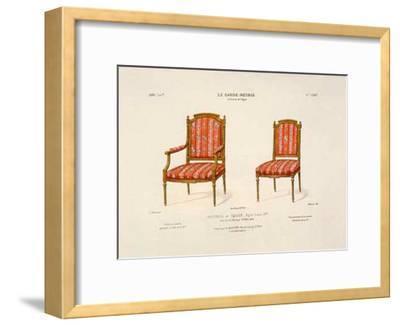 Le Garde-Meuble I-E^ Maincent-Framed Art Print