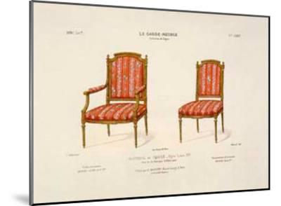 Le Garde-Meuble I-E^ Maincent-Mounted Art Print