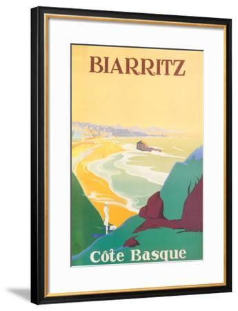 Biarritz-Debo-Framed Art Print