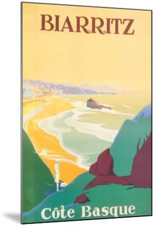 Biarritz-Debo-Mounted Art Print